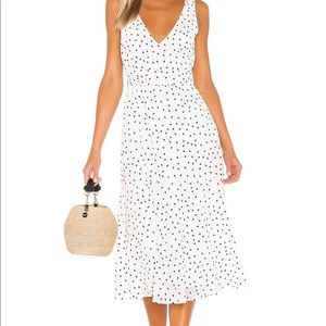 picnic perfect summer black and white long dress